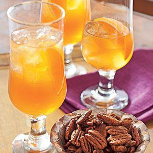 ... spice tea, orange zest, ginger, cinnamon stick, cloves, honey, apple