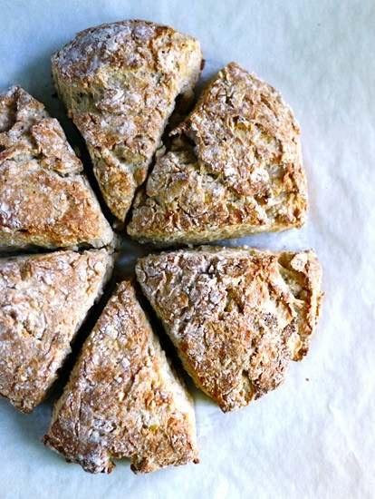 ROASTED BANANA BREAD SCONES | recipes to try | Pinterest