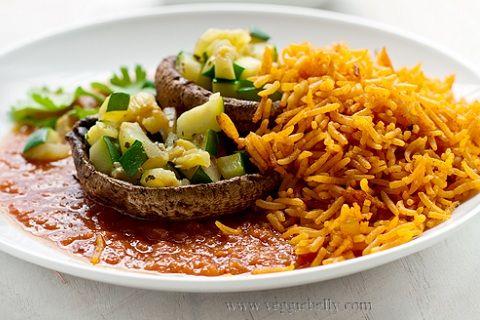 Portobello Mushroom and Zucchini Rellenos from Veggie Belly | recipes ...