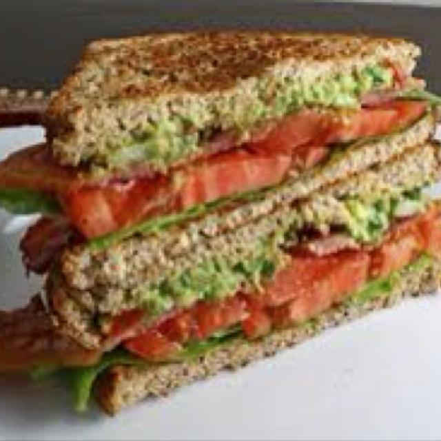 Blt guacamole | Recipes I'd like to try | Pinterest