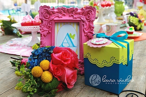 Alice and Wonderland party theme