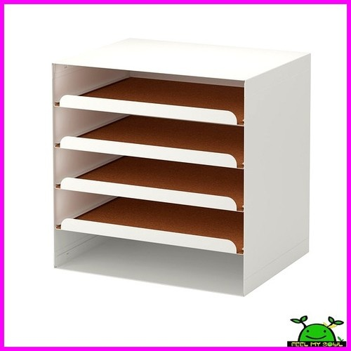 Ikea Letter Paper Tray Document Desk Organizer Storage