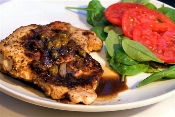 Pork Chops With Maple Mustard Sauce | Recipe