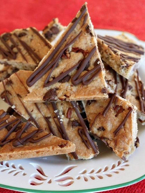 Chocolate Chip Cookie Brittle | Cookies | Pinterest