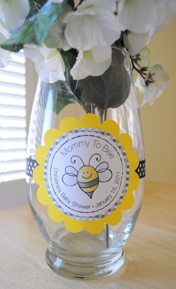 baby shower centerpiece decorations bumble bee theme mommy to bee