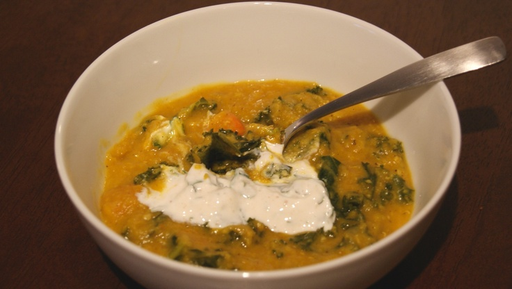 lentil soup sausage and lentil soup lentil soup with chipotle yogurt ...