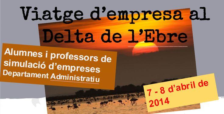 Viatge d'empresa al Delta de l'Ebre per part dels estudiants de simulació d'empreses de 2 CFGM de Gestió Administrativa i 2 CFGS Administració i Finances