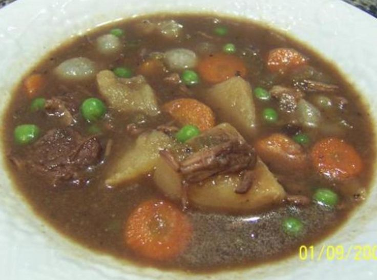 Easy Crockpot Beef Stew | food | Pinterest