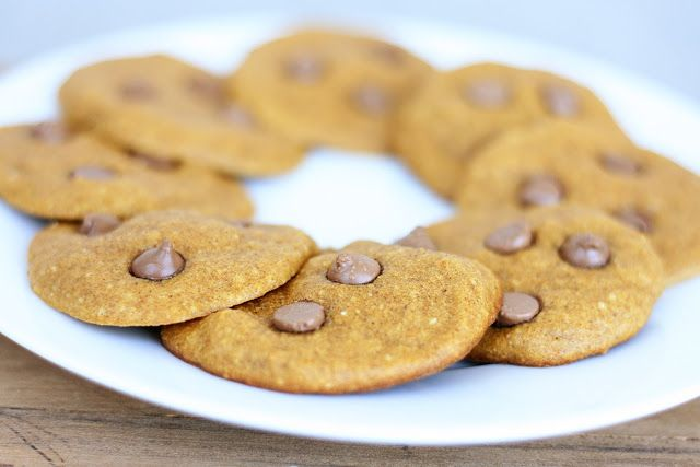 Naughty Carbs: Pumpkin Chocolate Chip Cookies (Low Carb/Low Fat)