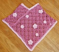 Crochet Pattern, Baby Poncho - Free Original Patterns