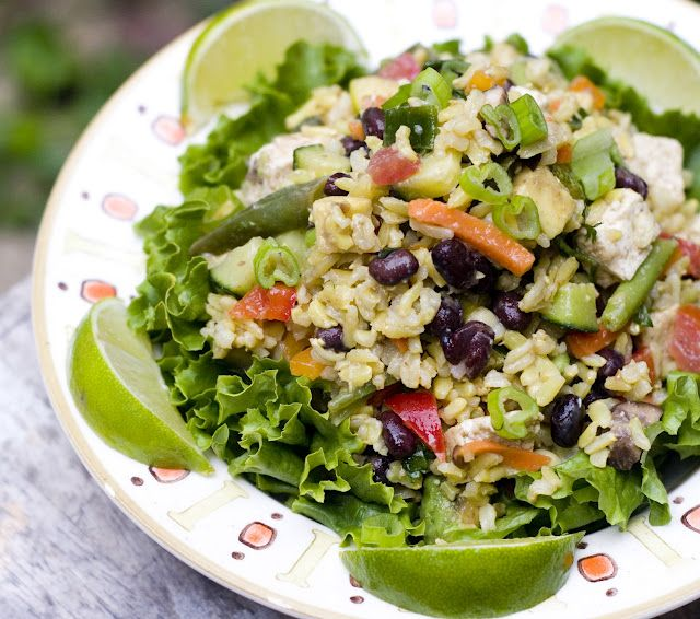 vegan taco salad | Clean Eating | Pinterest