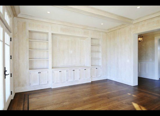 White washed paneling for the home pinterest for Wood paneling painted white