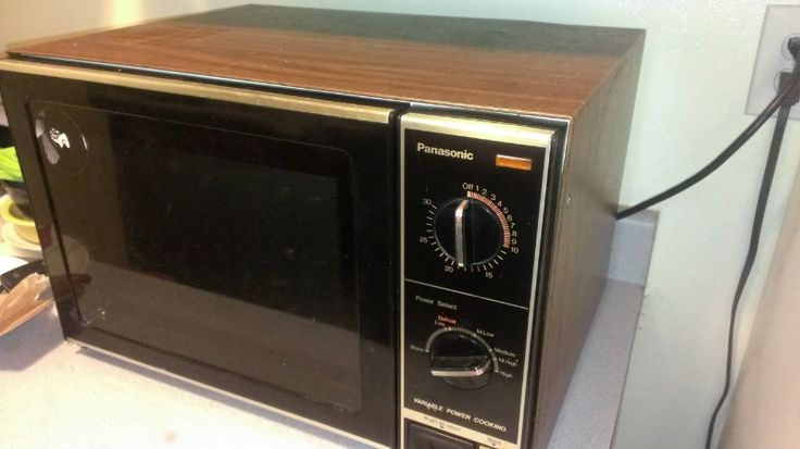 First Microwave Oven ~ Our first microwave oven