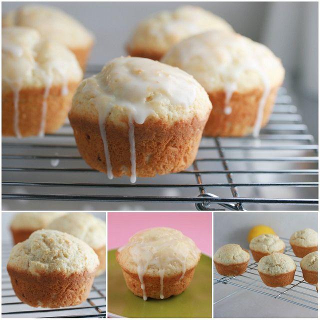 Meyer Lemon Ginger Muffins 2 by Food Librarian, via Flickr