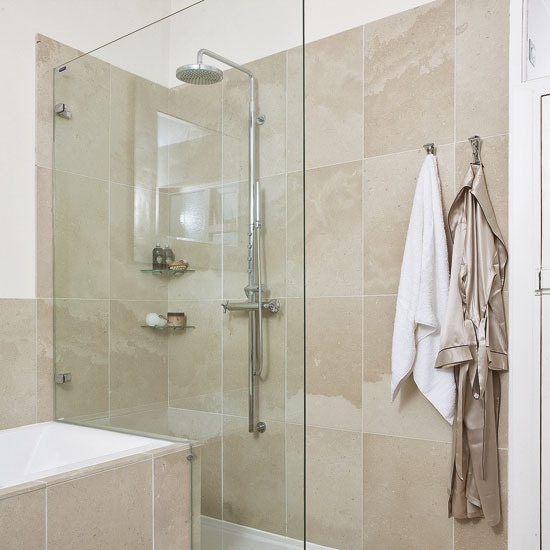 Wet room style shower bathrooms pinterest for Wet room or bathroom