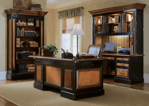 Executive Office Furniture Design Office Old World Tuscan Pintere