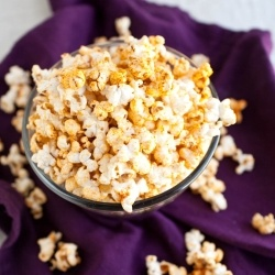 Coconut curry popcorn ~ not sure but totally need to try!