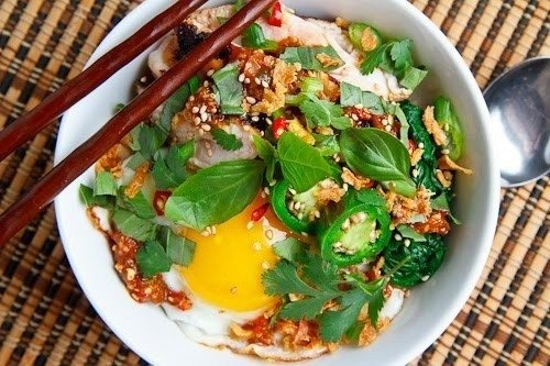 Sweet Chili Chicken Rice Bowl | Cooking - Savoury | Pinterest