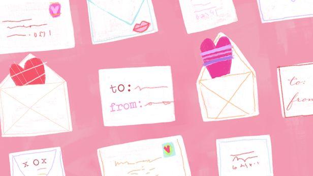 valentine card writing ideas