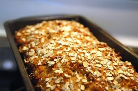 Recipes: Honey Oat Quick Bread | Sweet Treats | Pinterest