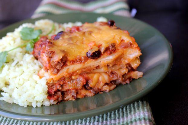 Ground Beef Enchilada Casserole... | casseroles | Pinterest