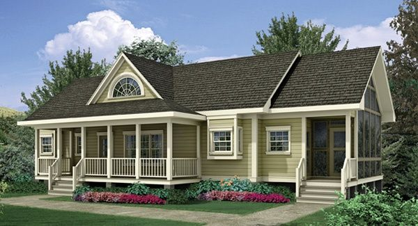 Raised ranch front porch ideas joy studio design gallery for Ranch style home plans with front porch