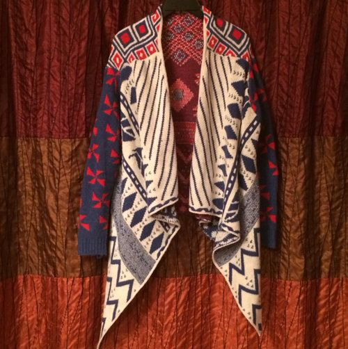 Super trendy aztec sweater cardi 40 this is style pinterest