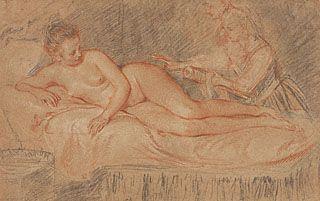 The Remedy, Jean-Antoine Watteau, about 1716-17
