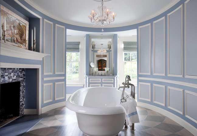 Light blue bathroom  Bath mood  Pinterest