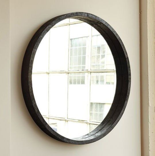 Current obsession round bathroom vanity mirrors for Round bathroom mirrors