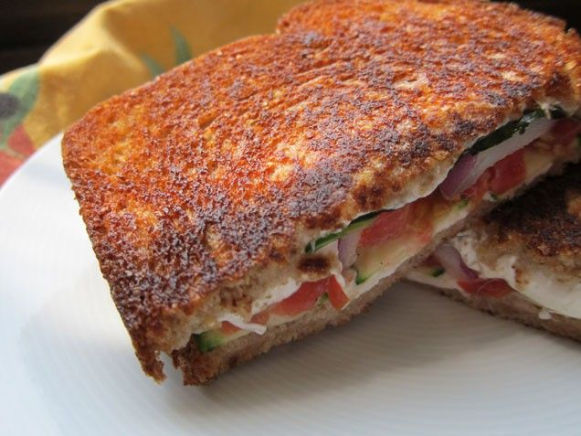 Italian-Style Grilled Cheese Sandwich | Recipe