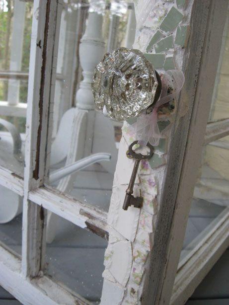 *old door with key