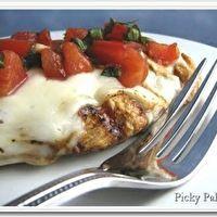 Balsamic Grilled Bruschetta Chicken | Yummy-Ness | Pinterest