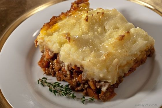 Cheddar Topped Shepherds Pie   Tried and true recipes   Pinterest
