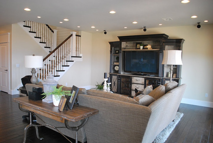 Basement Family Room : Basement family room  Dream Home  Pinterest