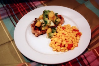 ... Peach Salsa and Creamy Corn & Roasted Red Peppers | Bare Wooden Spoon