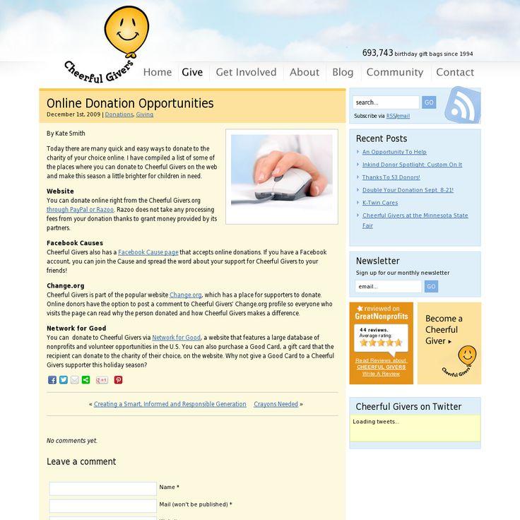 blogs newsblog free photo sharing sites nonprofits