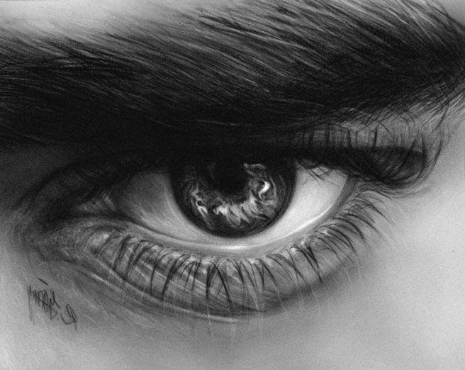 Рисунки радужки глаз
