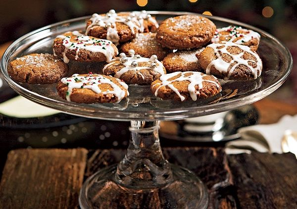 Iced Gingersnaps | food | Pinterest