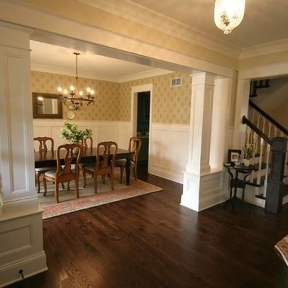 Solution For Columns In Dining Room M I C A S A Pinterest
