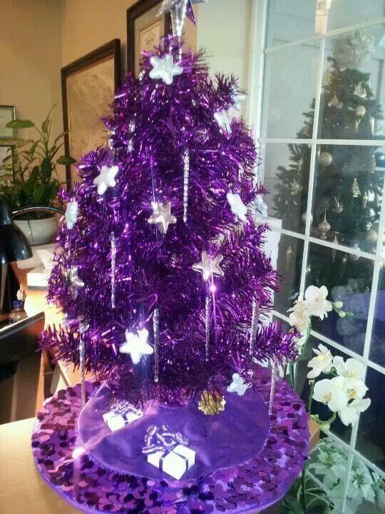 purple christmas tree pin all ze purple in ze veld pinterest