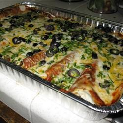 Angela's Awesome Enchiladas- made these last night, they are delicious ...