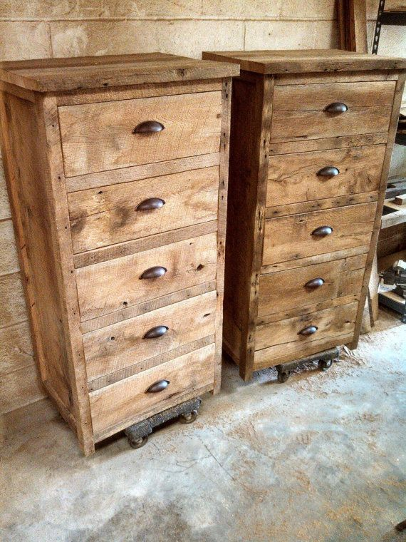Your custom rustic barn wood tall 24 wide dresser for Extra tall nightstands