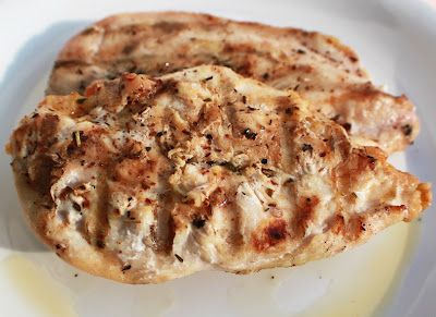 What's Cookin' Italian Style Cuisine: Curt's Grilled Balsamic Italian Herb Chicken