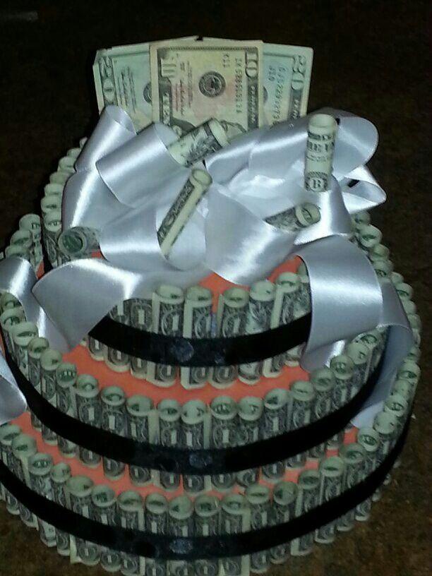 Money cake  Pluthera  Pinterest