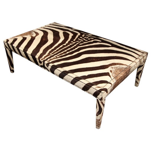 Zebra Cocktail Table Tables And Casegoods Pinterest