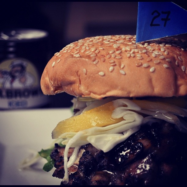 Day 27 jerk chicken, mango slaw, and Mr Brown these are a few of my ...