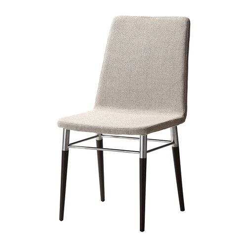 PREBEN Chair IKEA Padded seat and back for enhanced seating comfort.