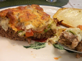 Meatloaf Pie - take recipe and convert onto broiler pan to decrease ...