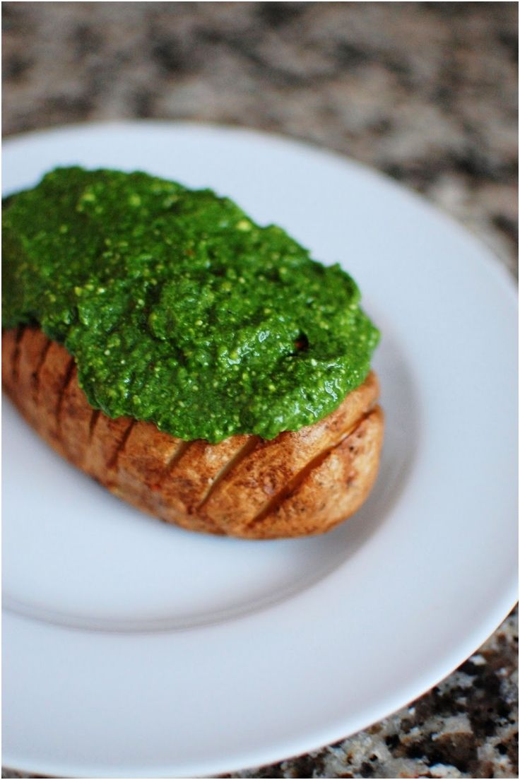 Hasselback potatoes with spinach pesto | Books Worth Reading | Pinter ...